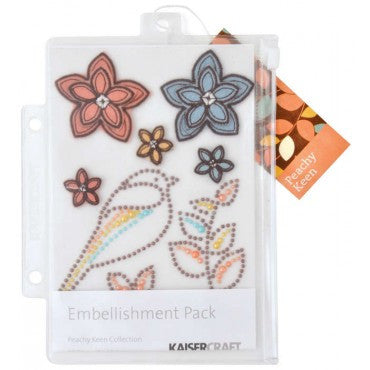 KAISERcraft | Embellishment Pack | Peachy Keen