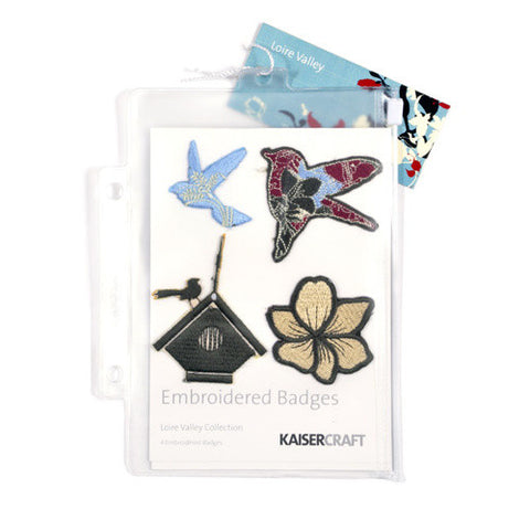 KAISERcraft | Embroidered Badges | Loire Valley