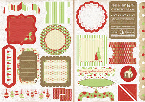 KAISERcraft | Die Cut Elements | Be Merry Christmas