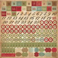 Turtle Dove | Number Sticker Sheet
