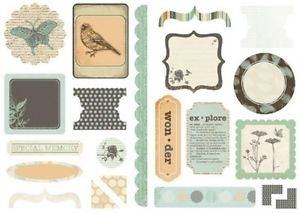 KAISERcraft | Die Cut Elements | Secret Bird Society