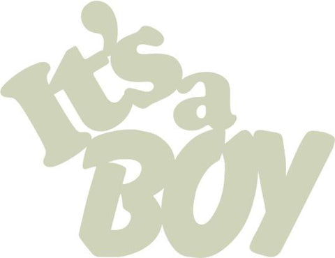 Laser Cuts | It's a Boy | Card Toppers