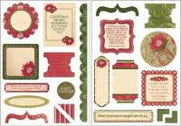 Bella | Die Cut Elements