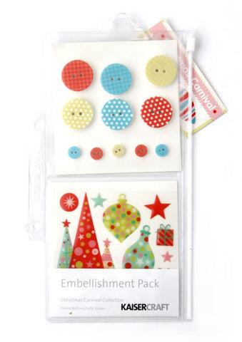 Christmas Carnival | Embellishment Pack