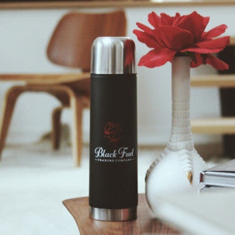 Black Fuel Thermos