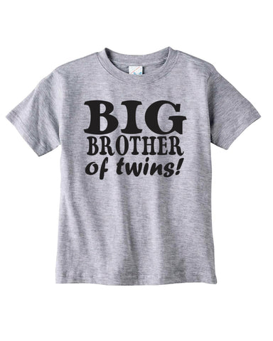 e2d019976a Sibling Gifts, Custom Shirts For Big Brother Of Twins, Cool T-shirts  Available