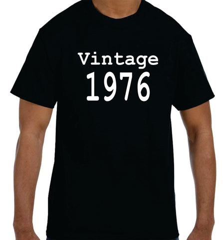 T Shirts For 40th Birthday Gift Custom Vintage 1976 Funny Shirt A Krystees