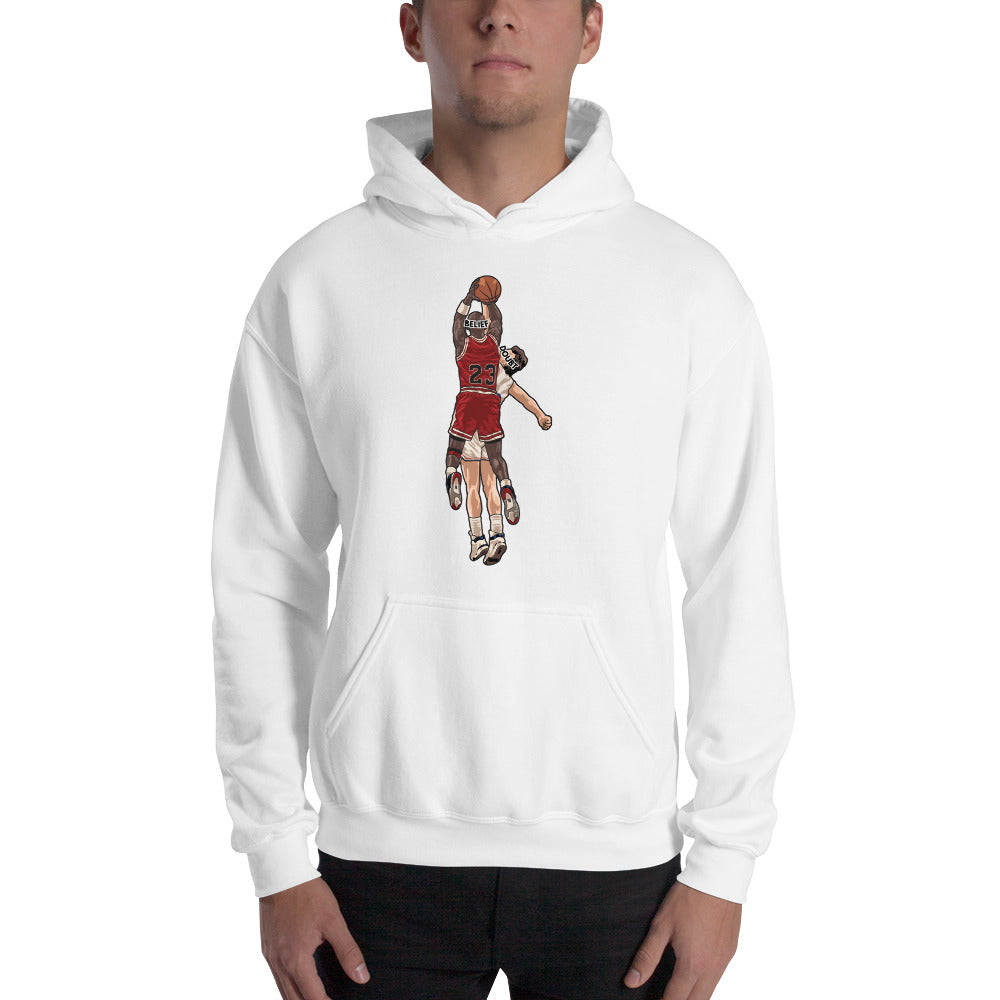 MJ  Belief Over Doubt Hooded Sweatshirt