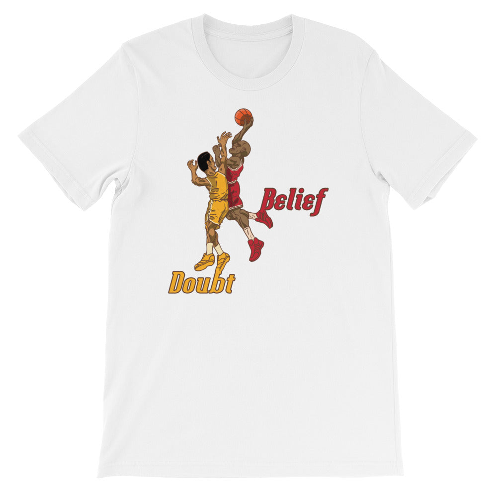 Belief over Doubt Baller Tee