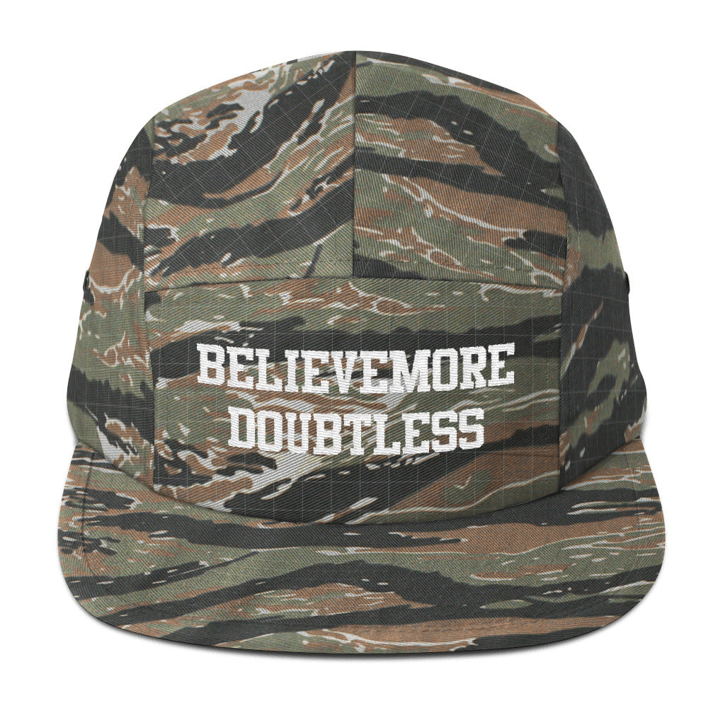 Believemore  Five Panel Cap