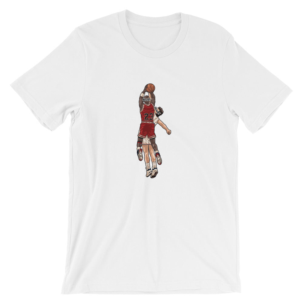 MJ  Believe Over Doubt T-Shirt