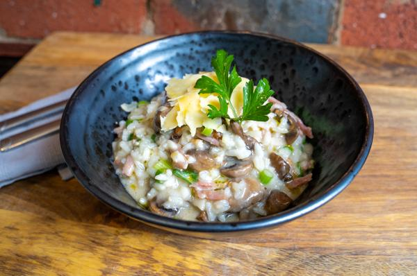 Bacon and Mushroom Risotto - 450g