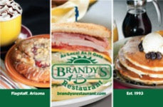 Brandy's Restaurant & Bakery $10 Gift Card