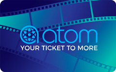 Atom Tickets $50 Gift Card