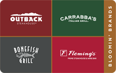 Bloomin' Brands $20 Gift Card