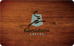 Caribou Coffee $15 Gift Card