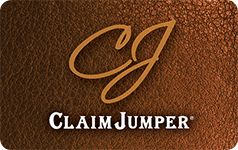Claim Jumper $150 Gift Card
