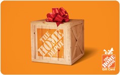 Home Depot $40 Gift Card