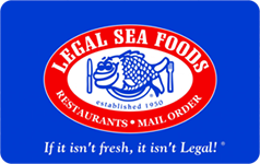 Legal Sea Foods $500 Gift Card