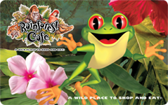 Rainforest Cafe $40 Gift Card