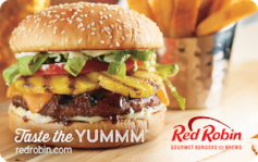 Red Robin $15 Gift Card
