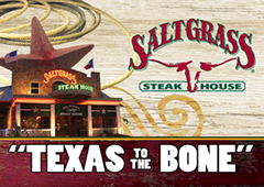 Saltgrass Steak House $40 Gift Card