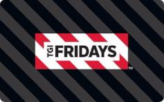 TGI Fridays $10 Gift Card