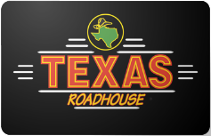 Texas Roadhouse $75 Gift Card