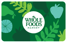 Whole Foods $100 Gift Card