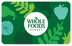Whole Foods $25 Gift Card