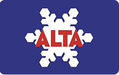 Alta Ski Resort $250 Gift Card