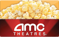 AMC Theatres $10 Gift Card
