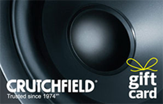 Crutchfield $50 Gift Card