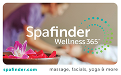 Spafinder Wellness 365 $50 Gift Card