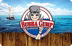 Bubba Gump Shrimp Co. $250 Gift Card