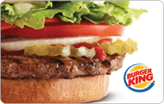 Burger King $15 Gift Card