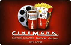 Cinemark $50 Gift Card