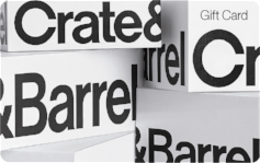 Crate & Barrel $350 Gift Card