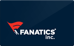 Fanatics $25 Gift Card