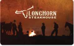 LongHorn Steakhouse $30 Gift Card