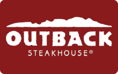 Outback Steakhouse $35 Gift Card