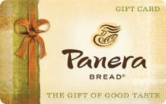 Panera Bread $10 Gift Card