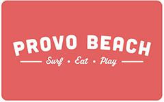 Provo Beach Resort Gift Card