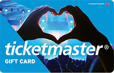 Ticketmaster £75 GBP e-Gift Card