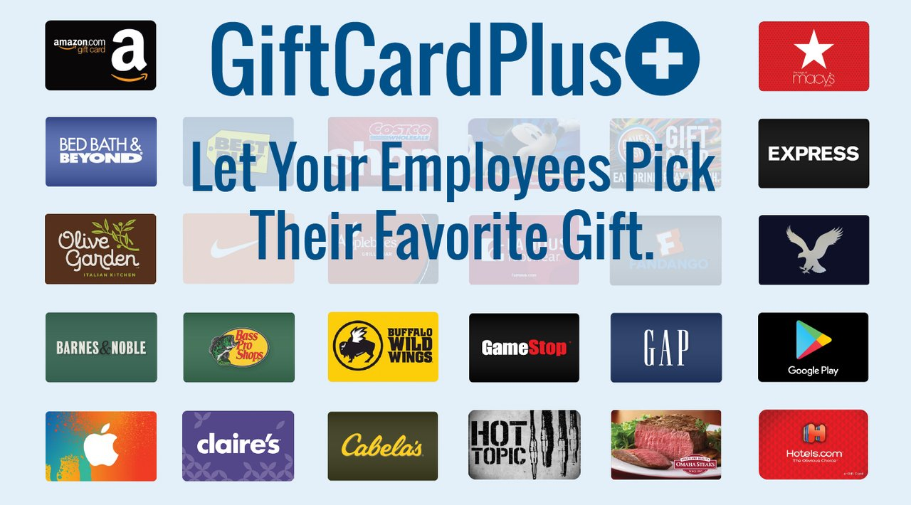 Holiday Gift Certificatesfor your employees and their families.