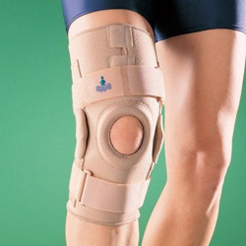 CE Approved Orthopaedic Brace & Support HINGED KNEE STABILIZER 1031
