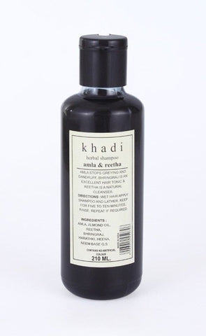 Khadi Herbal Amla & Reetha Shampoo