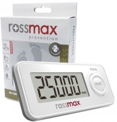 ROSSMAX PEDOMETER / STEP COUNTER / ACTIVITY MONITOR PAS20