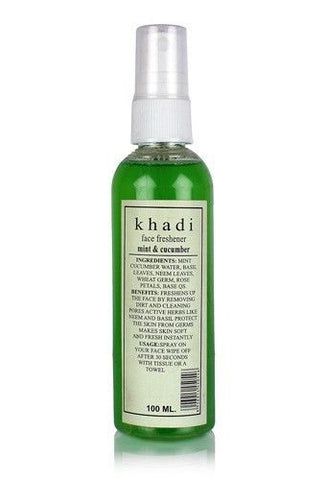 Khadi Mint and Cucumber Face Spray