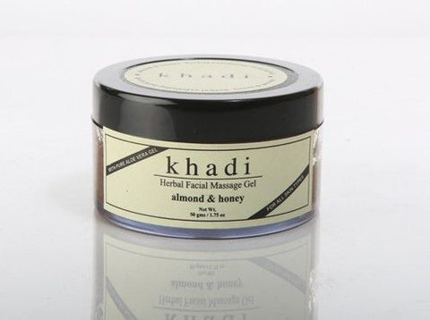 Khadi Almond & Honey Gel Scrub / 50g